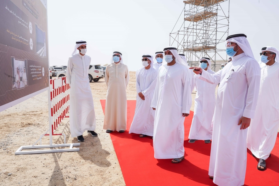 The CSP Tower is a part of the $4.3bn (AED15.8bn) Phase 4 of the MBR Solar Park megaproject.