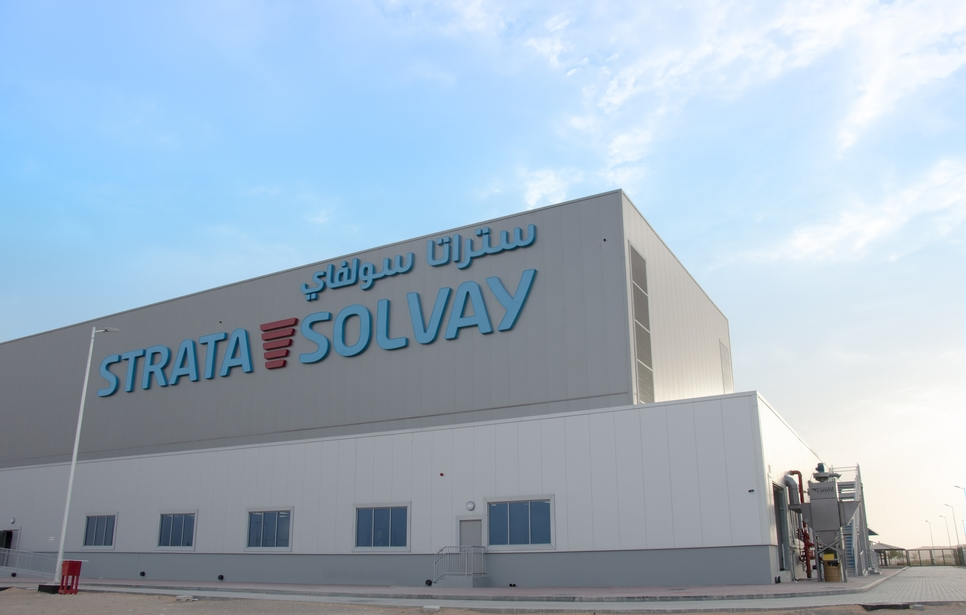 Strata completes construction of its JV facility with Solvay in Al Ain