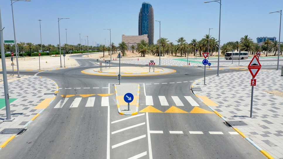 The project included surveying approximately 11,000,000m2 of pedestrian paths [All images: supplied]