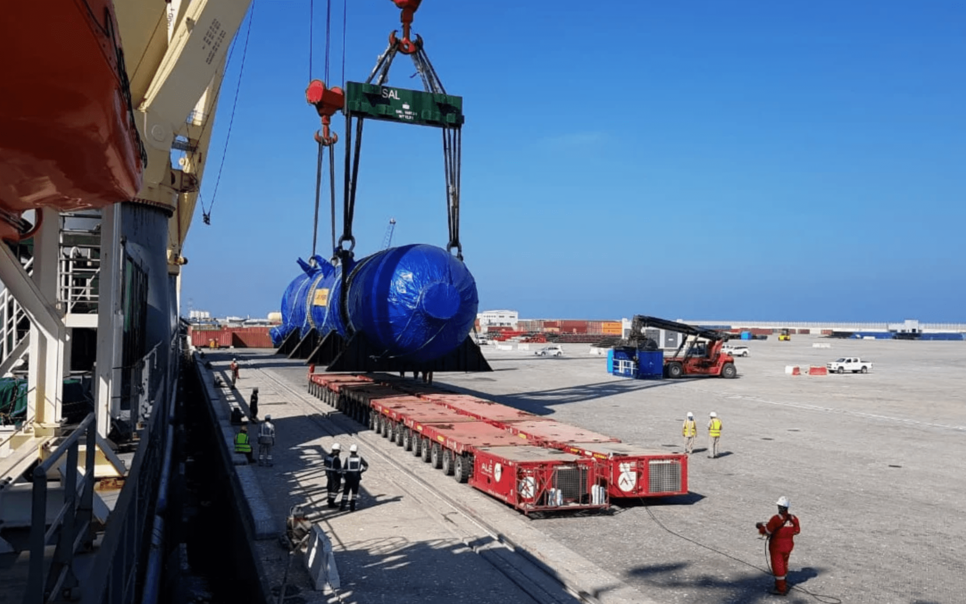 Mammoet awarded two contracts for Duqm oil refinery
