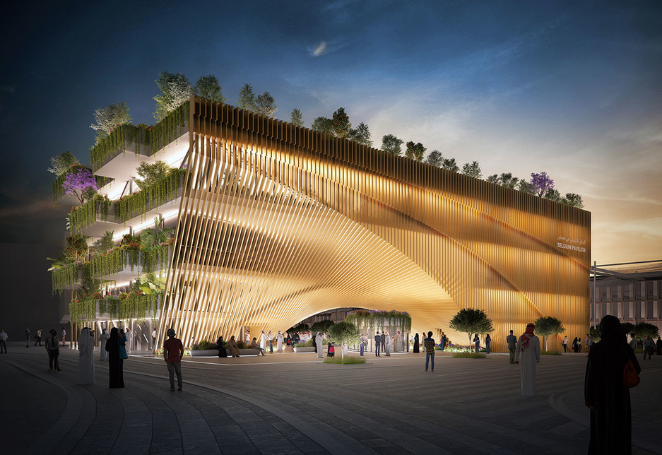 The Belgium Pavilion will be located within Expo 2020 Dubai's Mobility District