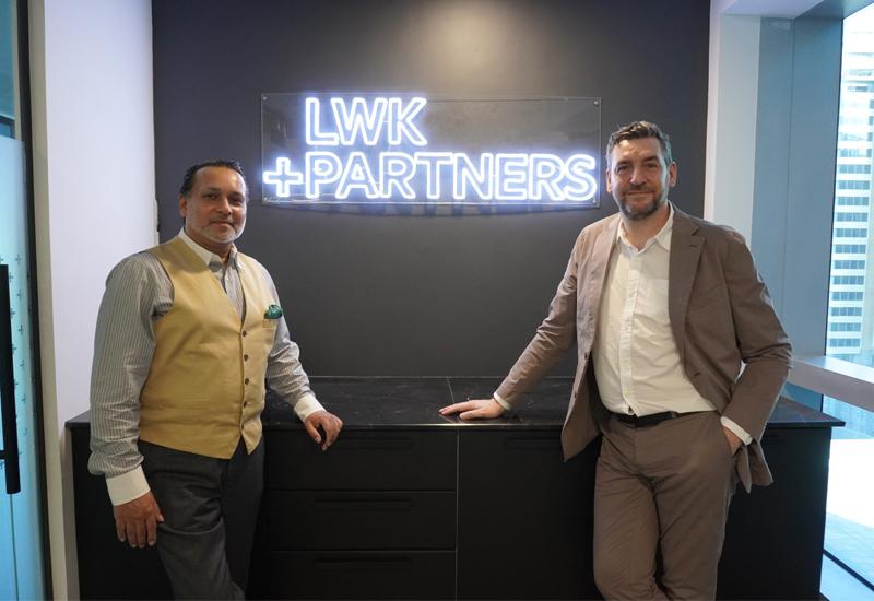 Usama Aziz (left), who will lead the firm's KSA office, standing alongside Kerem Cengiz