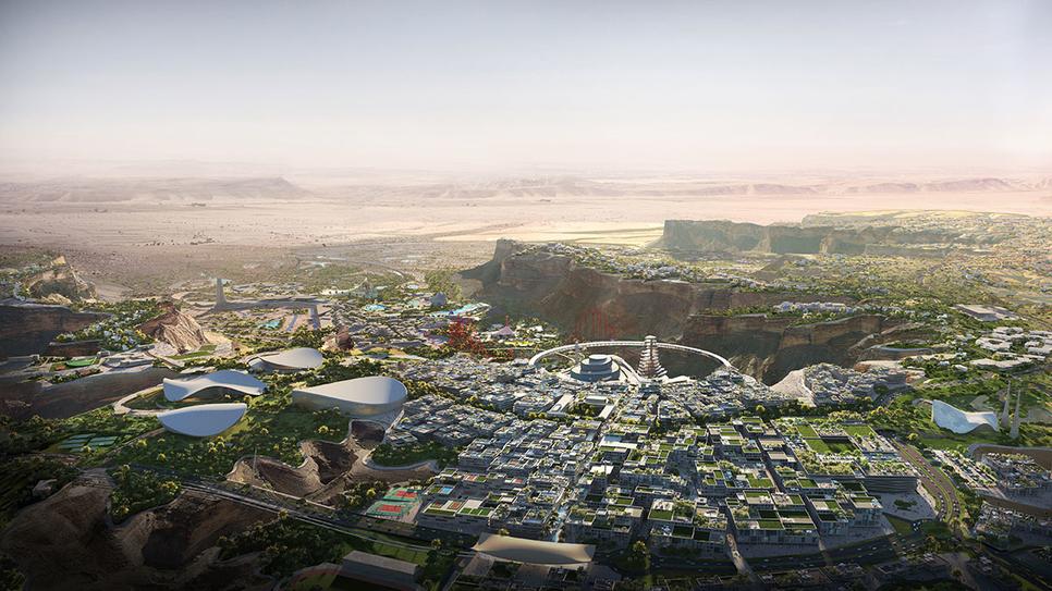 Qiddiya will be a 366km2 entertainment city - 40km outside of Riyadh