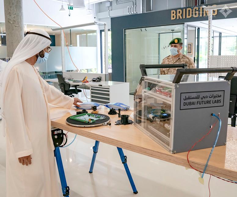 HH Sheikh Mohammed inaugurates Dubai Future Laboratories