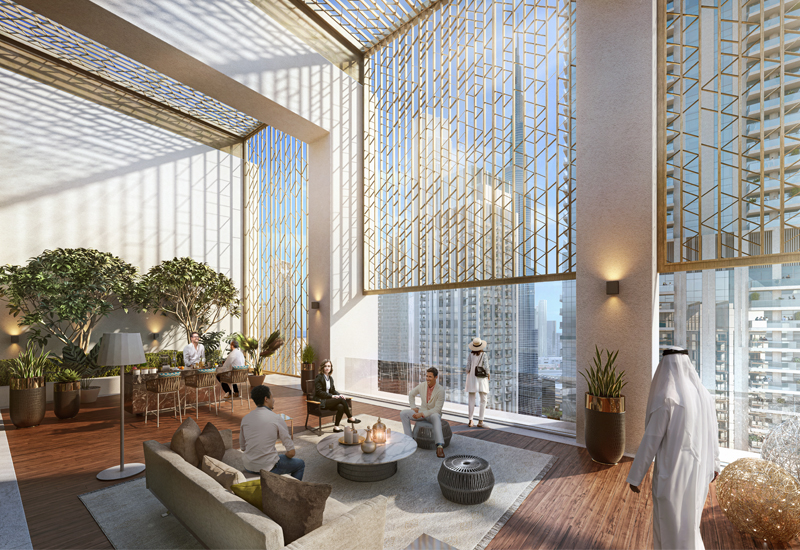 Emaar Properties' Burj Crown development is scheduled to be completed by October 2023