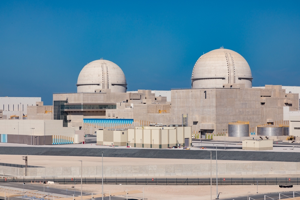 Barakah Nuclear Energy Plant's Units 1 and 2