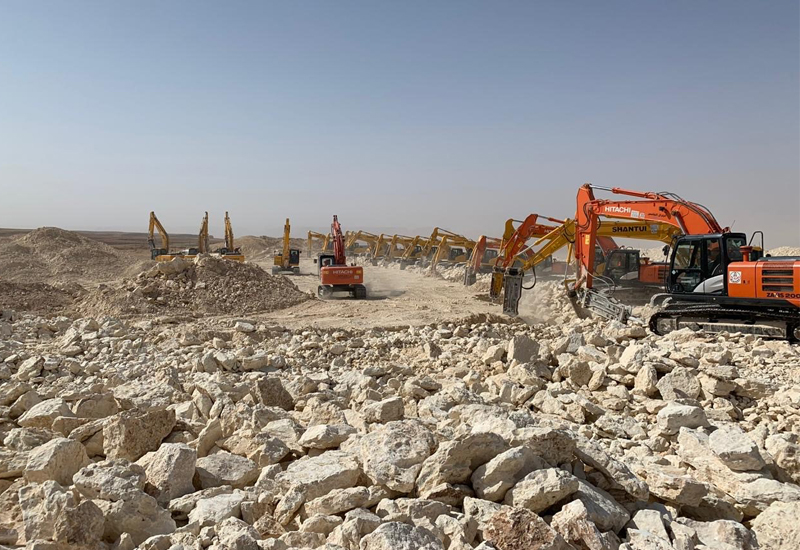 Qiddiya's roads and bridges development is scheduled to be completed by May 2023