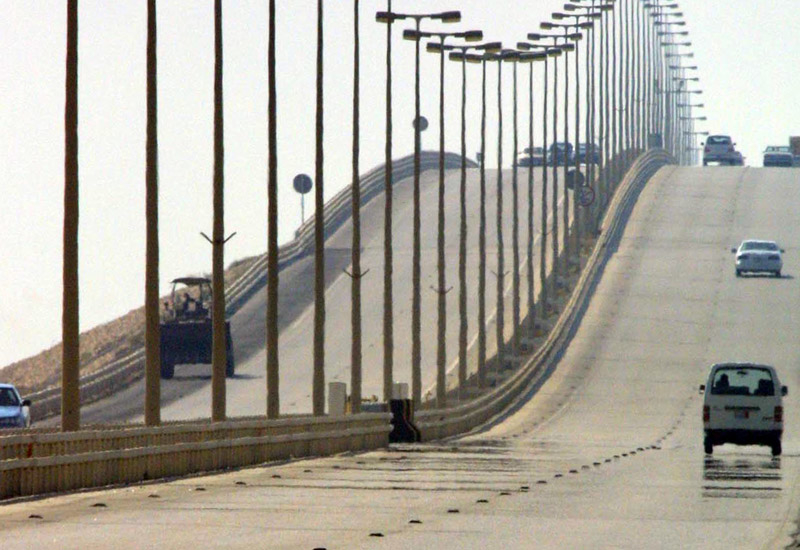 The King Fahd Causeway is re-opening for commercial transit trucks between Bahrain and Saudi Arabia