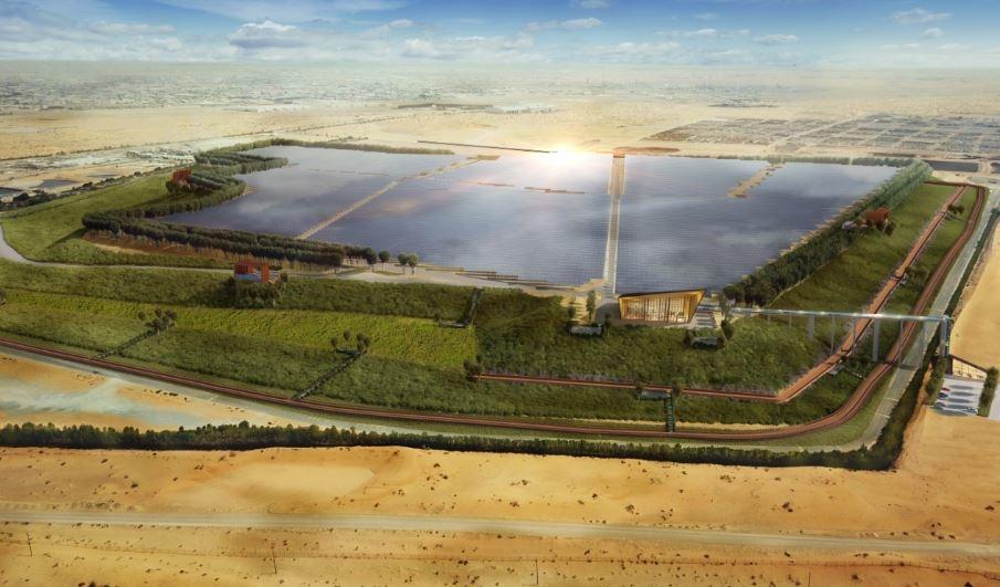 Bee'ah's first landfill solar farm project