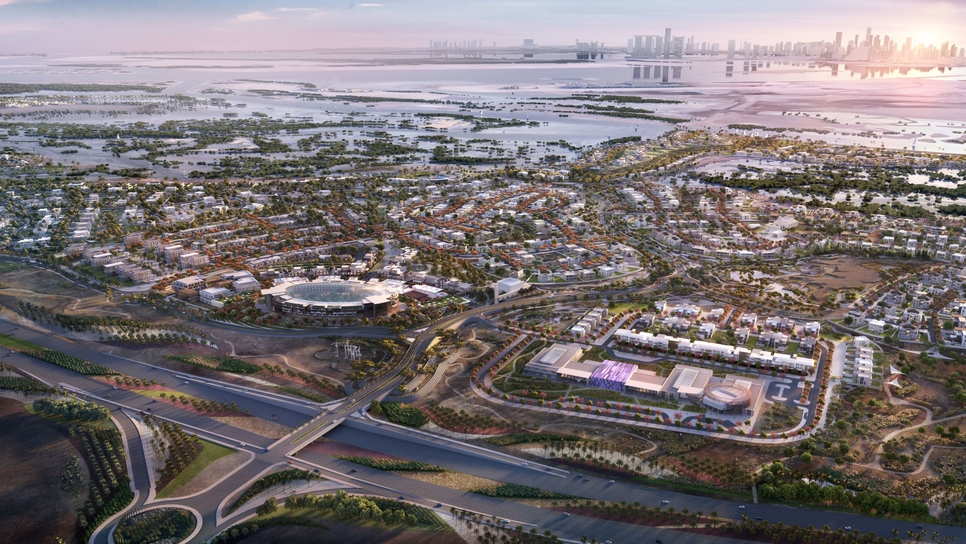 Gulf Contractors Company has inked an interchange contract for the Jubail Island development in Abu Dhabi