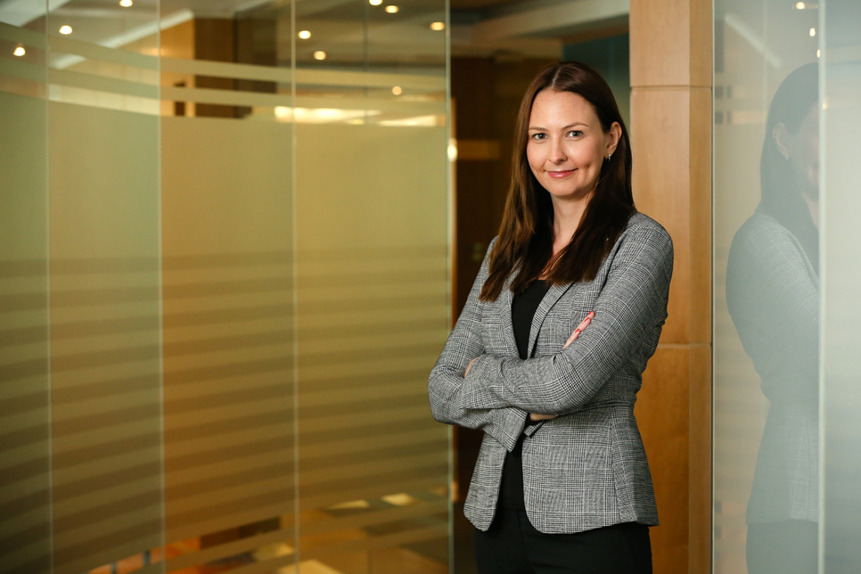 Philippa Carman will be Emrill's new head of business development following her promotion
