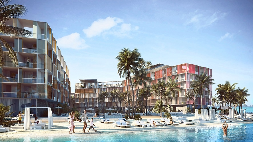 Kleindienst Group has finished the elevation on its Côte d'Azur resort