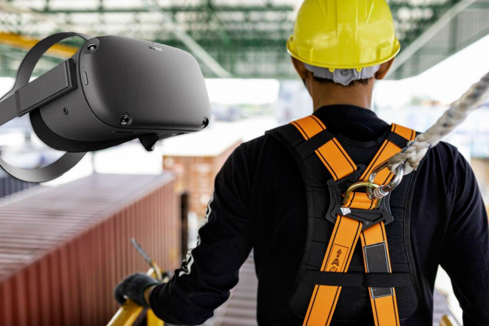 """Implementing VR at the early stage means you are in control of the construction site"""