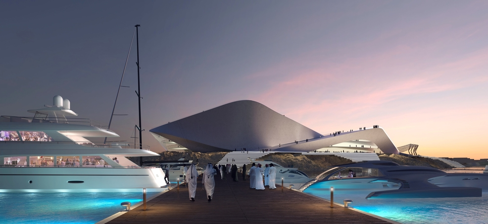Triple Bay's marina basin will provide secure berthing for more than 300 yachts.