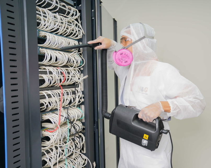 According to H&G, contaminants, in a long-run, could damage circuit boards within data centres.