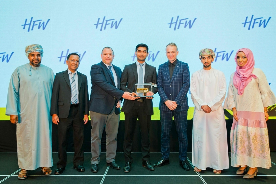 KEO International Consultants claimed last year's Consultancy of the Year honour at the CW Oman Awards 2019