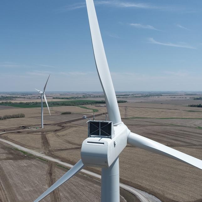 Masdar will take three utility-scale wind farms in Nebraska and Texas.