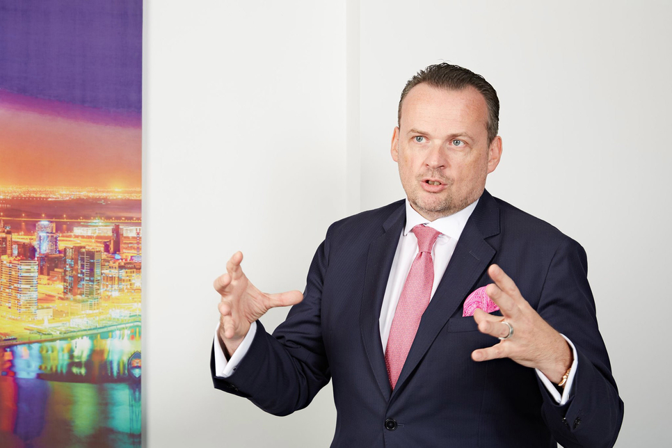 The chief executive officer of Eltizam Asset Management Group, Chris Roberts