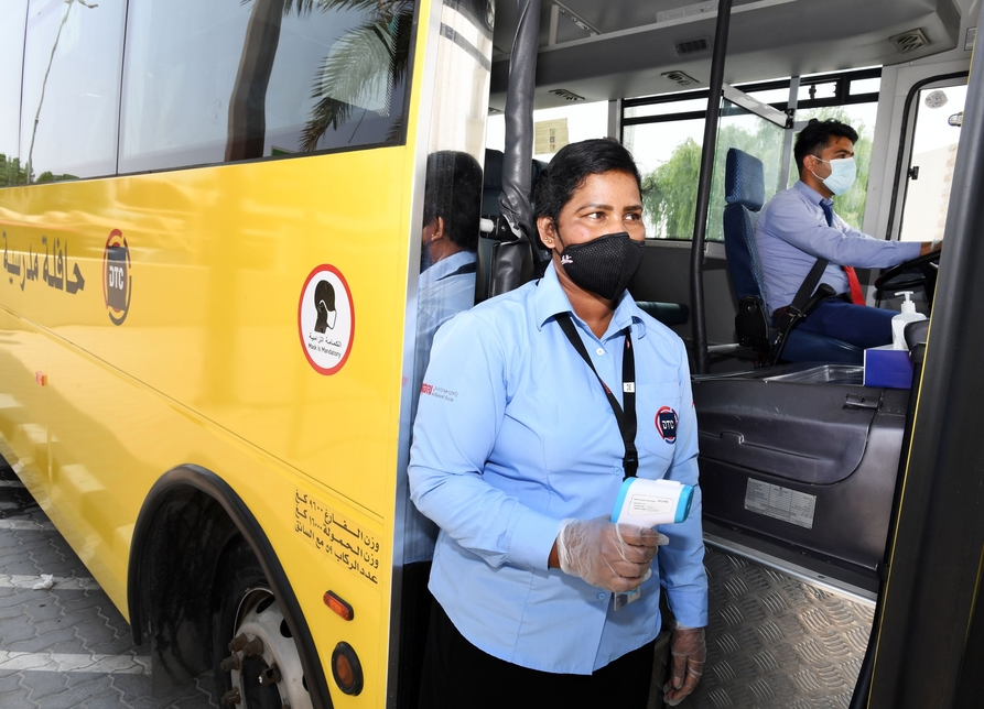 RTA's DTC introduces COVID-19 measures on school transport