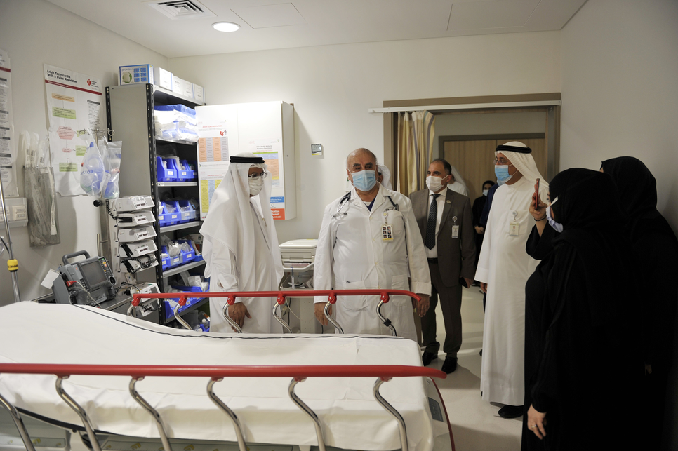 Phase 1 of expansion at Dubai Hospital's emergency department complete