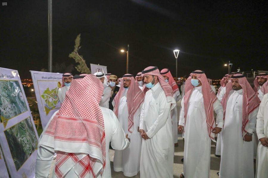 Saudi Minister inspects development projects in Al-Baha region