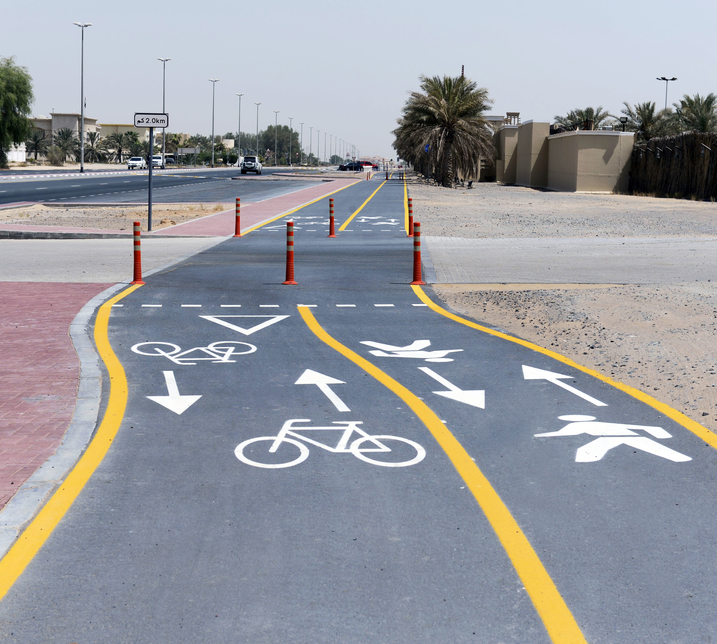 RTA extends cycling tracks to 425km, constructs 4-way footbridge near JBR