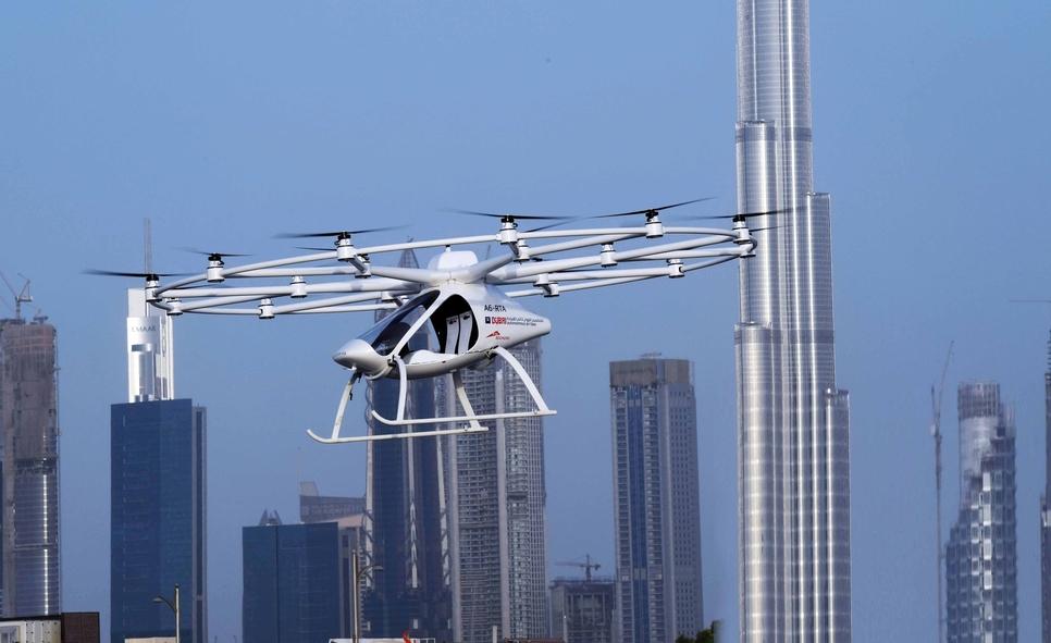 RTA, DANS ink MoU to chart 'air corridors' for 'autonomous vehicles'