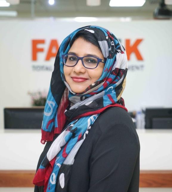 Nadia Ibrahim, head of consultancy at Farnek.