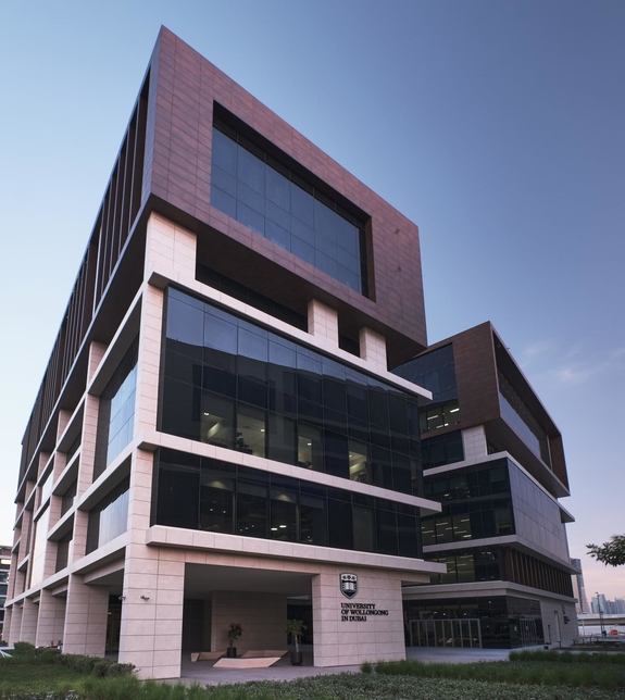 The campus features a modern architectural design that combines traditional and innovative learning spaces.