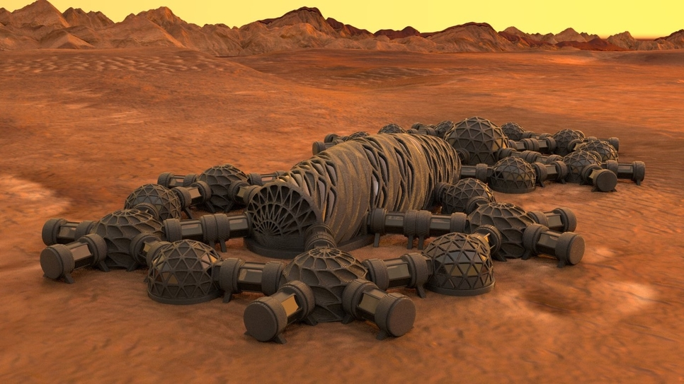 Colonising Mars: Pushing today's technology to its limits and beyond