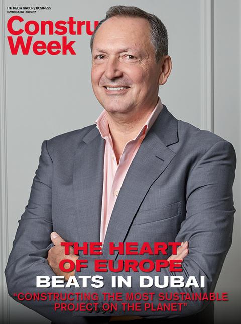 Josef Kleindienst, the chairman of Kliendienst Group, is on CW's September magazine cover