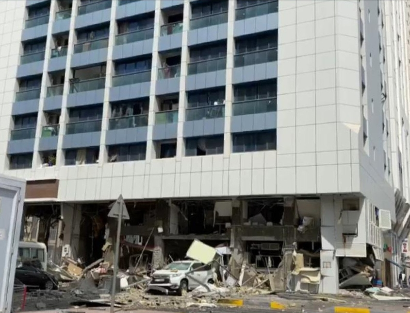 Gas explosion in Abu Dhabi restaurant claims two lives