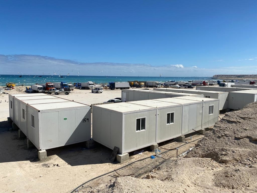 The Ministry has allocated land plots to build fishermen villages close to the coast [Images: ONA]