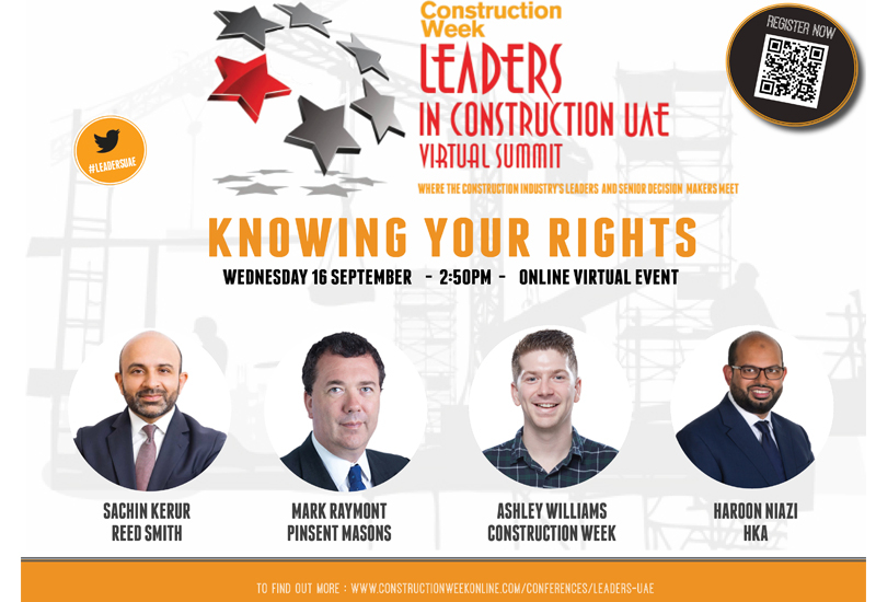 Leaders UAE's Knowing your Rights panel will take place on the 16 September at 2:50pm (UAE time)