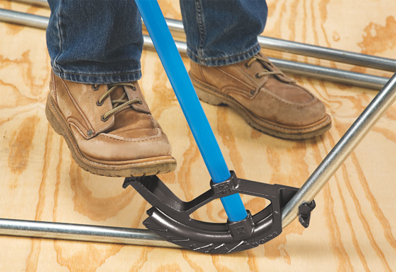The Conduit Bender provides a fast and convenient method  for bending conduit on site [image: Supplied]