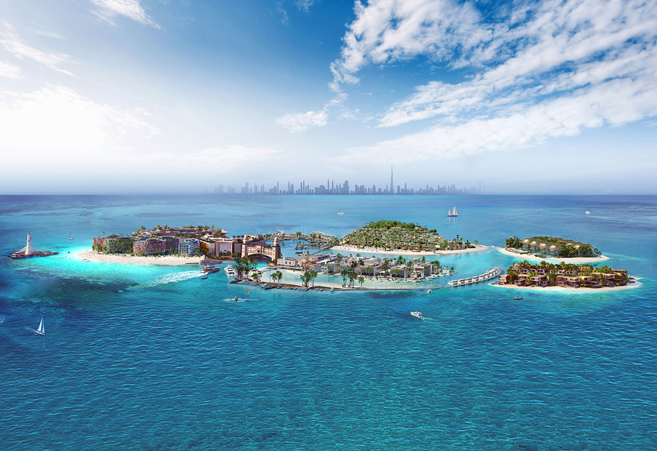 The Heart of Europe project is being developed by Kleindienst Group 4km off the coast of Dubai