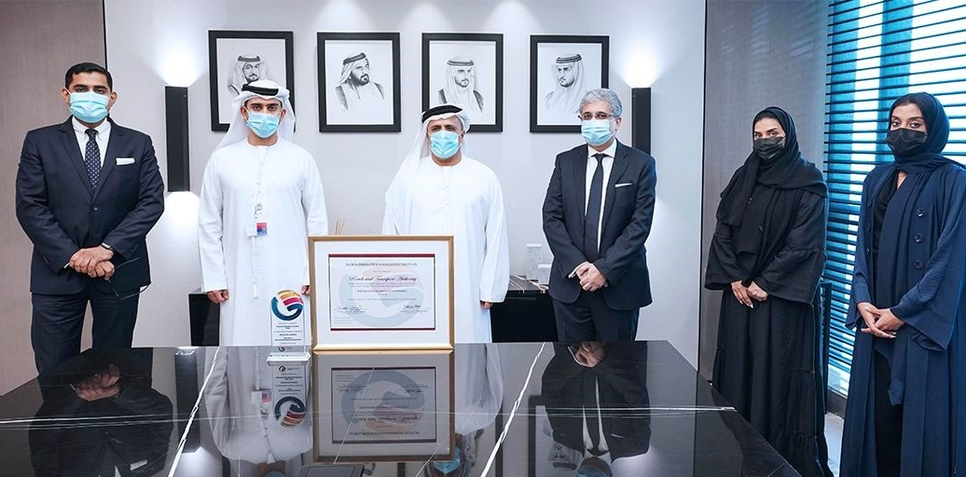 Director-General, Chairman of the Board of Executive Directors of RTA, HE Mattar Mohammed Al Tayer, has received the Innovation Organization Maturity certificate from GIM Institute