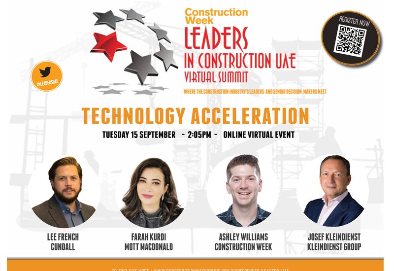 The Technology Acceleration panel will take place on the 15 September at 2:05pm