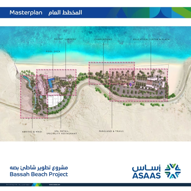 Oman's ASAAS inks deal to develop 73,000m2 Bassah Beach Project