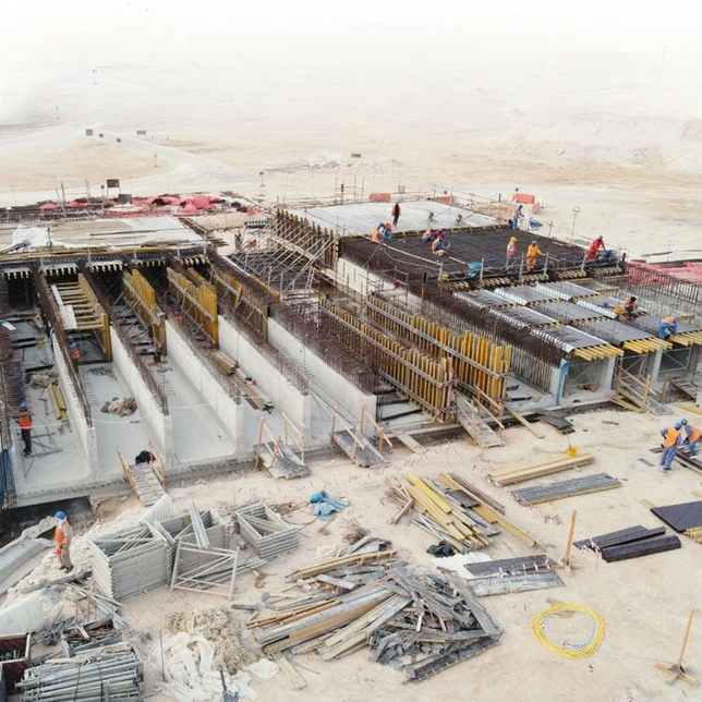Work progresses on Package D & A of Etihad Rail project