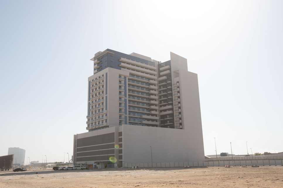 Aura is a residential and commercial complex located in Jebel Ali.