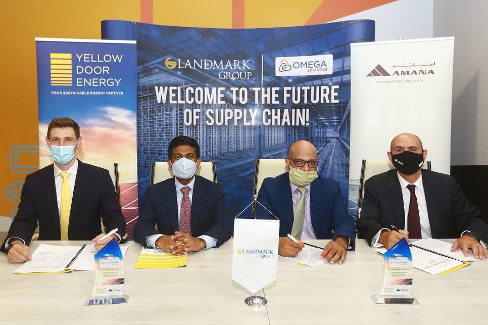 The agreement is a first joint venture between Yellow Door Energy and AMANA Investments.