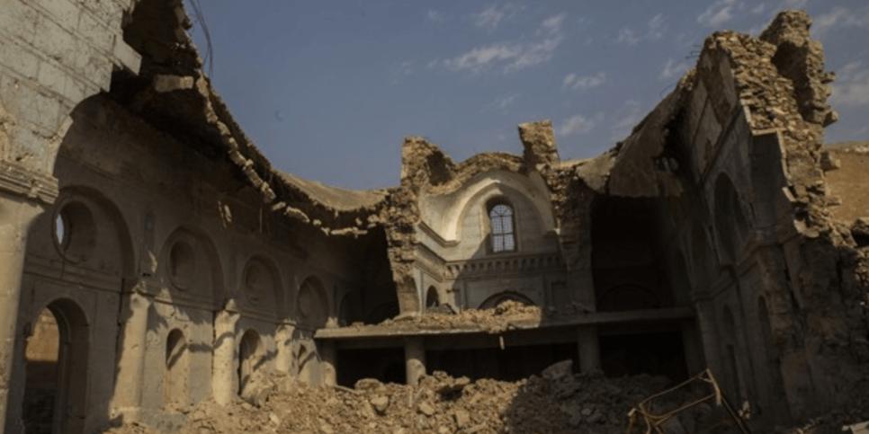 Reconstruction begins on Mosul's Al-Tahera Syriac-Catholic Church