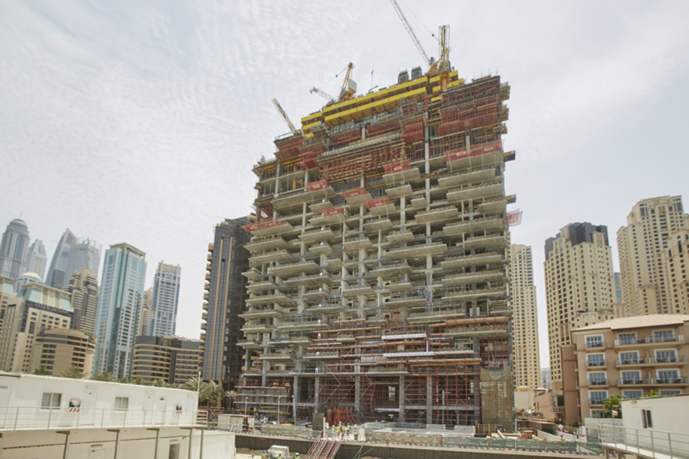 Dubai Properties' 1/JBR reaches 40% completion