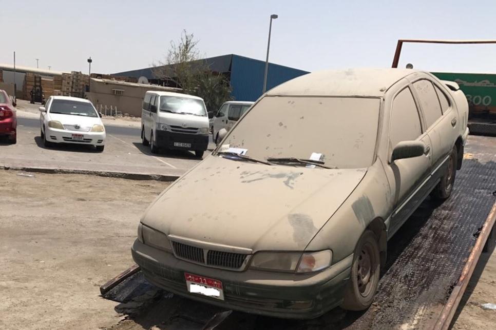 Abu Dhabi City Municipality cracks down on abandoned vehicles