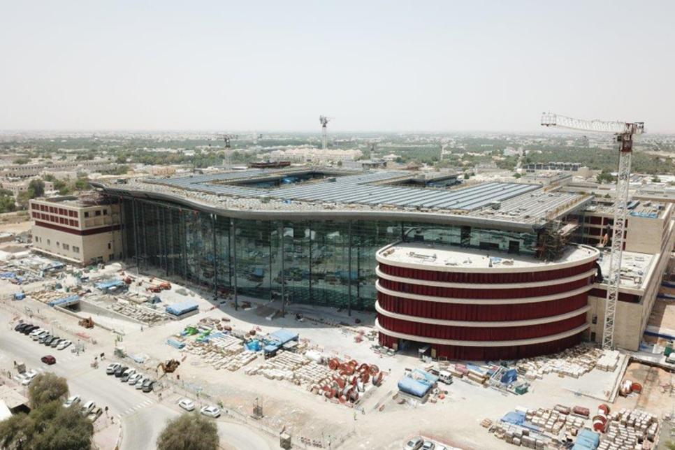 Construction of Abu Dhabi's $1.2bn Al Ain Hospital 66% complete