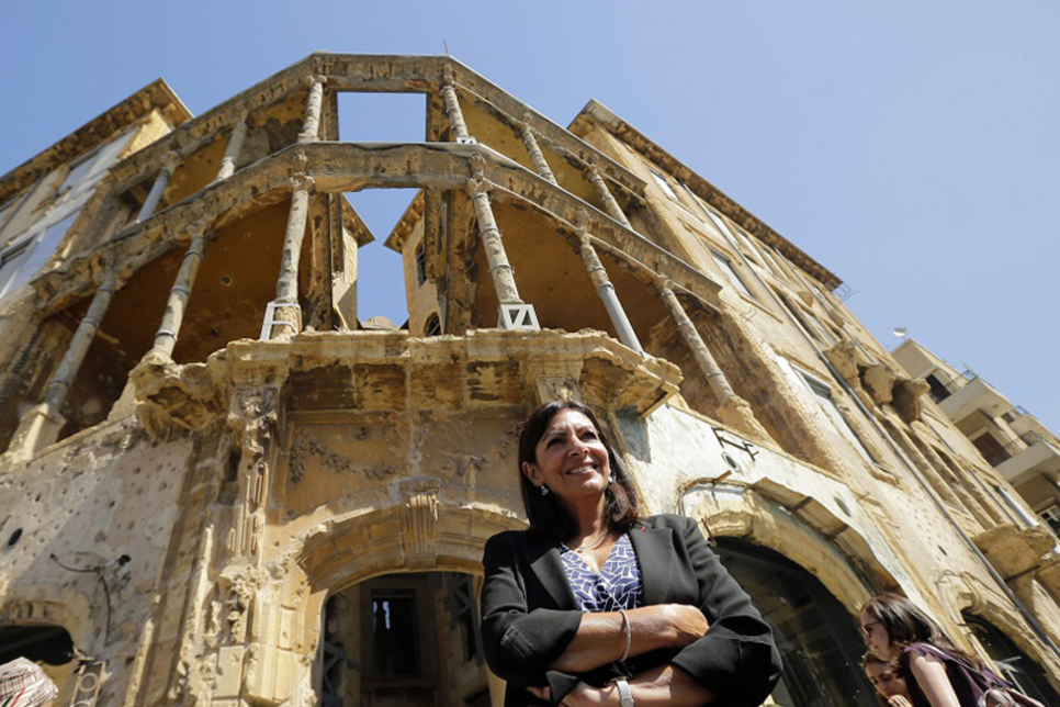 Beirut sniper's nest now monument to resilience