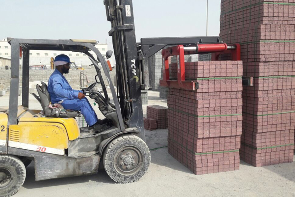 UAE's Arabian German buys two forklift attachments from UK firm