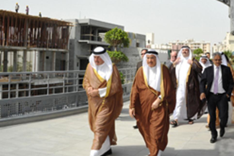 Bahrain's $18.6m car park inaugurated