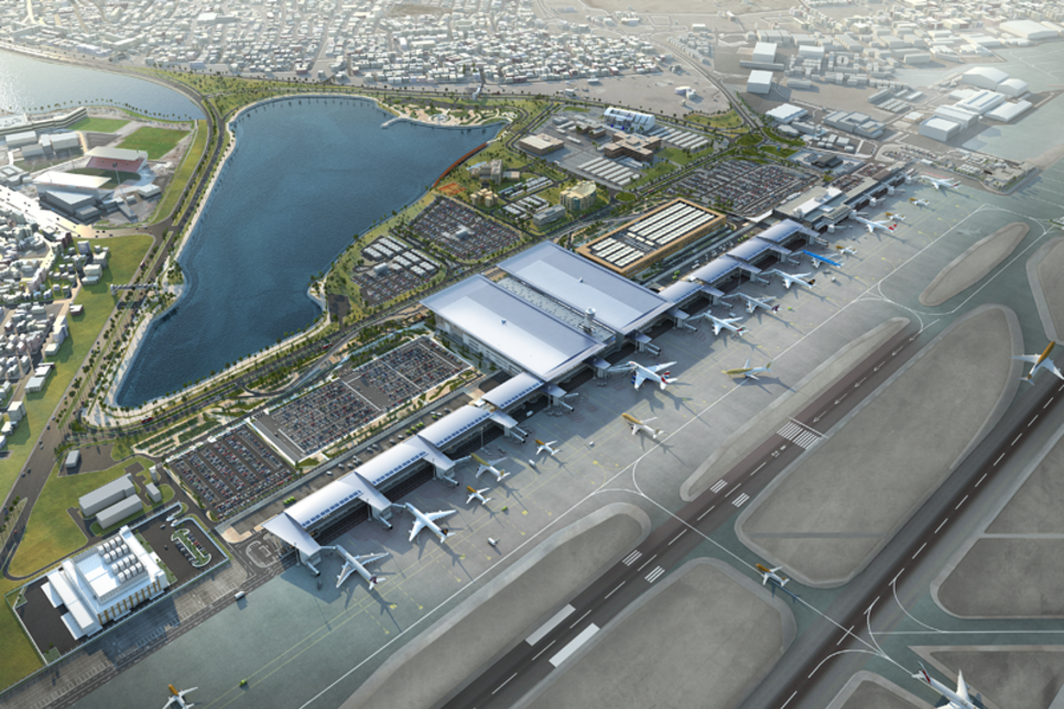 Bahrain Int'l Airport passenger terminal will be ready on time